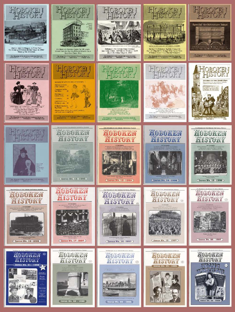 Hoboken_History_Magazine_all_issues1