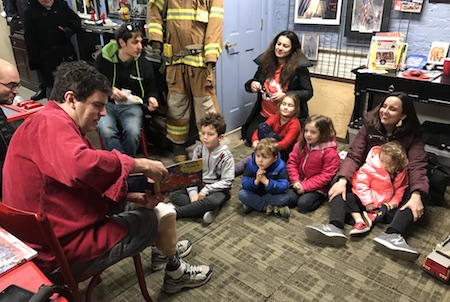 Image result for story time hoboken fire dept