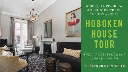 Hoboken House Tour @ Hoboken Historical Museum, 1301 Hudson St.