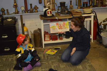 Storytime at the Fire Department Museum @  Fire Department Museum | Hoboken | New Jersey | United States