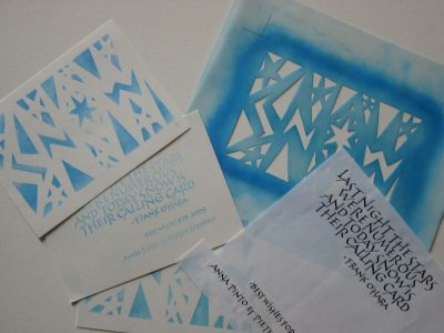 Artist Talk: Anna Pinto on the Art of Calligraphy, Dec. 9
