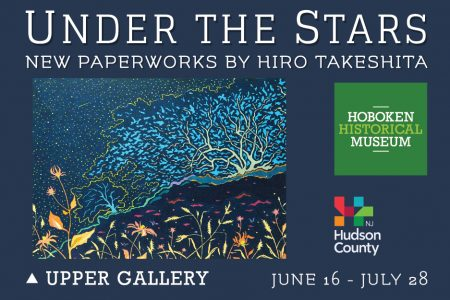 "Opening reception: ""Under the Stars: New Paperworks by Hiro Takeshita"""